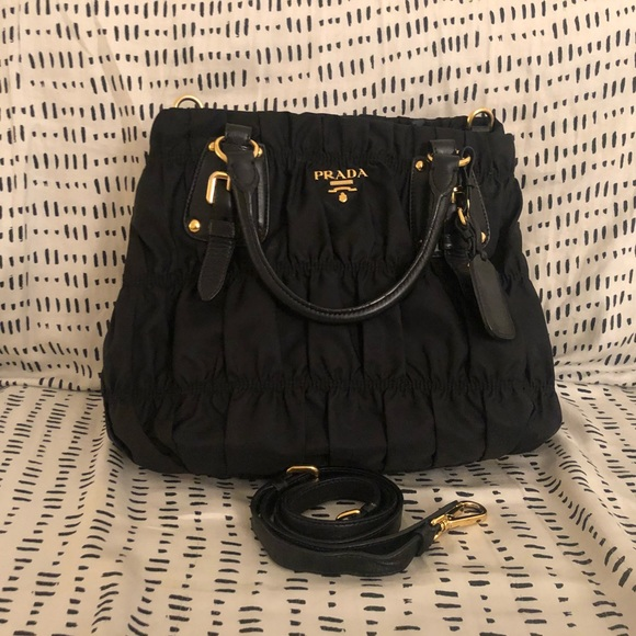 d6c0a138af Prada Tessuto Gaufre Shopping Tote. M 5addfb182ab8c5323f9de10a. Other Bags  ...